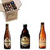 Caja degustación 9 cervezas de abadía y trapenses estilo Tripel. Cervezas especiales para...