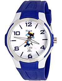 Vizion Analog Multi-Colour Dial (Mr. Tom-the Golfer Cat) Cartoon Character Watch for Kids-V-8826-2-2