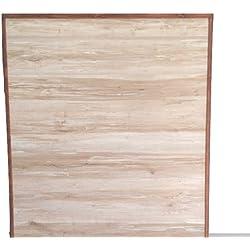 Cabezal de madera para cama de 90 cm.