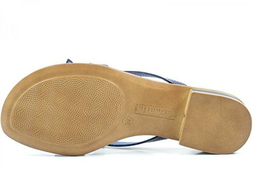 Tamaris 1-27123-28 Sandales femmes Blau