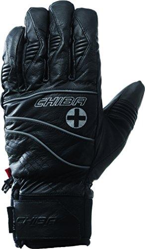 Chiba Herren Handschuhe Lederhandschuhe Lake Placid, Herren, Lake Placid Leather, schwarz, Size 8.5