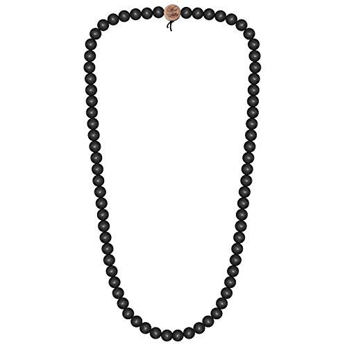 Wood-Fellas-Halskette-in-schwarz-von-6-12mm