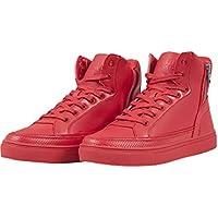 Urban Classics - Zipper High Top Shoe, Scarpe da ginnastica Unisex – Adulto
