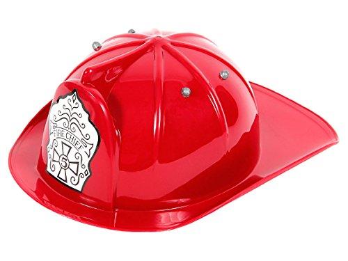 Alsino Feuerwehrhelm Kinder rot He-01 Feuerwehr Helm - Kinder ab 3 Jahren