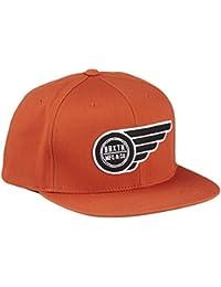 Brixton Cap Flight - Gorra para hombre, color Naranja, talla Talla única
