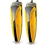 FEILING Elektrischer Schuhtrockner,Schuhwärmer Elektrisch mit Antibakterieller Deodorant Sterilisator,Yellow