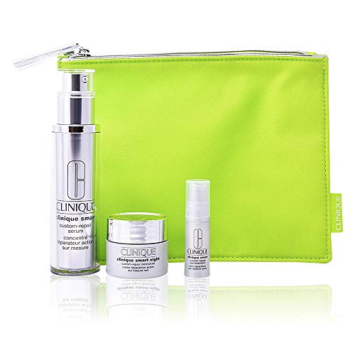 Clinique Smart Aging Serum multicorrector Serum 50ml + Creme Nacht 15ml + Creme Augen 5ml