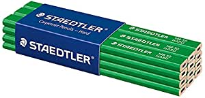 Staedtler 148 Hard Carpenters Pencil - Pack of 12