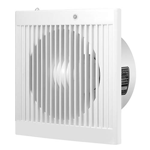 Badlüfter Abluftventilator Abluftventilatoren Geräuscharmer Abluftventilator Haushalt 6 Zoll Fenstertyp, Ventilator for Küchenraum Bad Ventilator