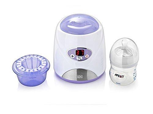 Sisi Baby SBC-002E Babykostwärmer Elektronisch mit LCD Display Fläschchenwärmer für Zuhause