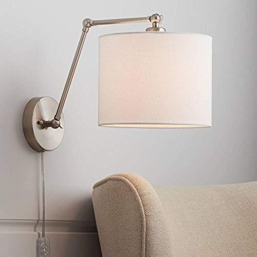 Gebürstetes Nickel 360 Vertikale Moderne Verstellbare Leinen Einfache Dekorative Lampen -