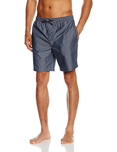 BOSS Hugo Boss Herren Schlafanzughose Short Pant CW 2, Blau (Medium Blue 420), X-Large