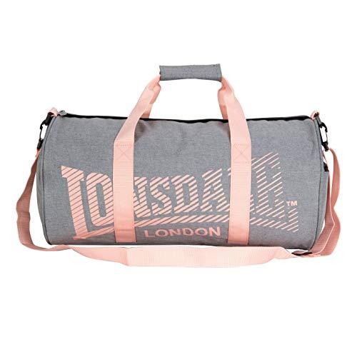 Lonsdale - Bolsa de viaje Hombre Multicolor Charcoal/Pink Talla única