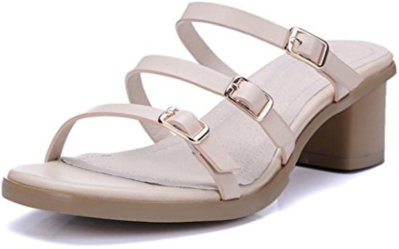 1ad2d07d6e50e Boucle de le ceinture fraîche en été avec le de mot boucle sandales et les  femmes