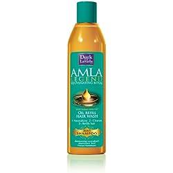 Dark & Lovely Shampooing Actions 3 en 1 Neutralisant Nourrissant à l'Huile Indienne d'Amla pour les Cheveux Défrisés, Abîmés, Très Secs - 250ml