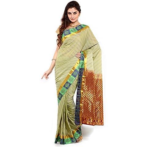 Sudarshan Silks -  Sari  - stile impero - Donna