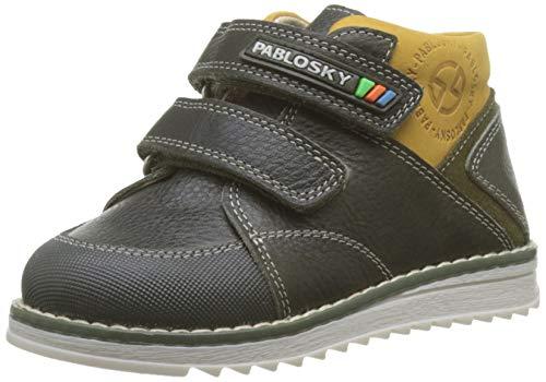 Pablosky 064781, Botas para Bebés, Negro Negro Negro, 21 EU