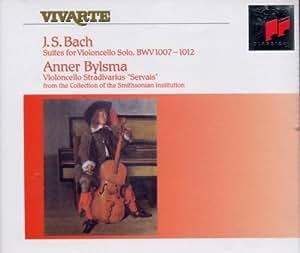 Bach: 6 Suites for violoncelle solo BWV 1007-1012