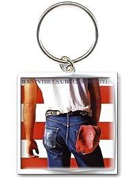 Bruce Springsteen - Schlüsselanhänger Born in the USA (in 4,5 cm x 2,4 cm)