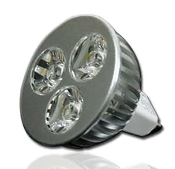 LUX.PRO Hi-POWER LED SPOT 3x1W MR16 GU5.3 8-24V AC/DC WARM
