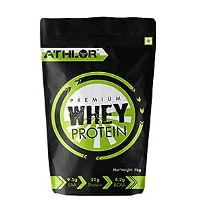 Athlor Premium Whey Protein, 1kg, Nat. Cocoa