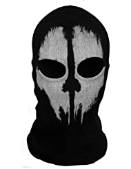 Tour de Cou Masque Cagoule Ghost - Tete de mort - Call of Duty Modern Warfare MW