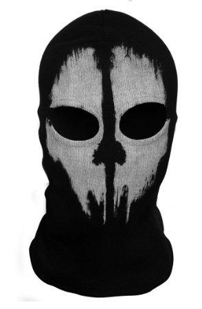 Hakkin Tour de Cou Masque Cagoule Ghost - Tete de mort (Couleur3)