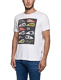 Replay Biker Tank Replay Logos T-Shirt - M3265