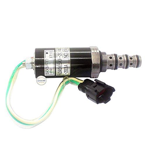 Sinocmp Pompe hydraulique Électrovanne Kdrde5kr-20/40 C13-203 A Skx5p-17-210 Pour Sumitomo Sh200-2 Électrovanne, 3 mois de garantie