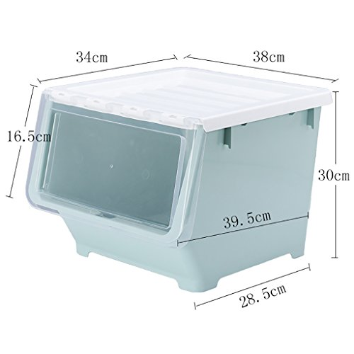 Serviette de bain douce Boîte de rangement en plastique/boîte de finition portable/boîte de rangement pour jouets 1 installée Forte absorption d'eau (Couleur : B)