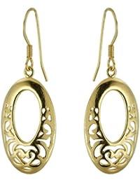 Boucles d'Oreilles Femme - Plaqué Or - P51129
