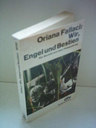 Buchseite und Rezensionen zu 'Wir, Engel und Bestien' von Oriana Fallaci