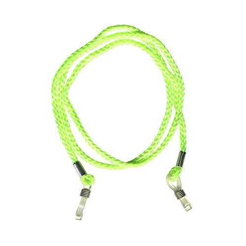 Freak Scene® Brillenband ° Kordelband für Brillen ° Farbe: neon grün