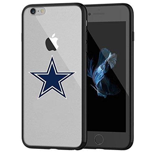 iPhone 7Tough Schutzhülle, Stoßdämpfung TPU + Translucent gefrostet kratzfestem Hard Backplate Back Cover für iPhone 7-Schwarz ()