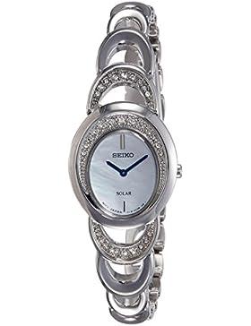 Seiko Damen-Armbanduhr Analog Quarz Edelstahl SUP295P1