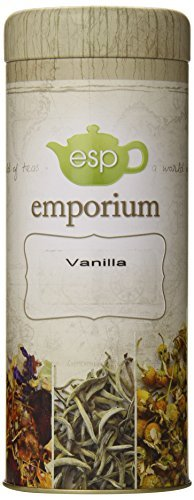 ESP Emporium Black Tea Blend, Vanilla, 3.53 Ounce