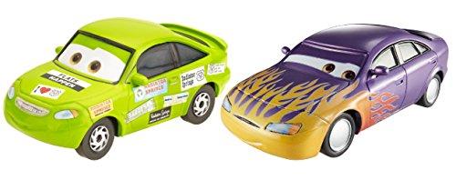 Disney Cars2er Marilyn Stickers und Nick Stickers Fahrzeugset aus der Serie Radiator Springs