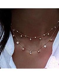 49cd2cc58d66 8m Nordvpn Simple Chapado en Oro Tassel Coin Bar Collar Clavícula Cadena  Charm Joyería Plata
