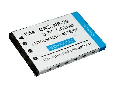 High Capacity – Rechargeable Battery for Casio EXILIM Digital Cameras