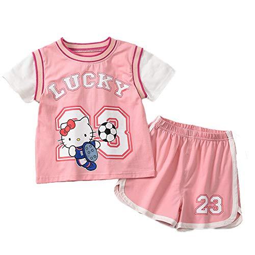 CHUANG Herren New York Sport Baby Kinder Set - Lakers James # 23 / Jungen Und Mädchen Freizeit Sweatshirts Baby Baby Kinder Jersey Basketball Fans (Pink)
