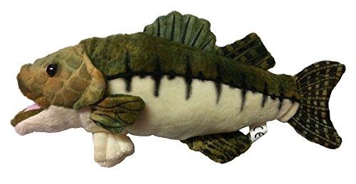 Barsch ca. 28 cm groß Fisch Plüschtier Stofftier Plüsch Kuscheltier Tier Plüschfigur