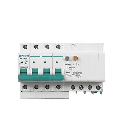 OIASD Interruptor de Aire Interruptor de protección contra Fugas 4P C40A 30mA...