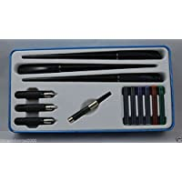 Cross Sheaffer Calligraphy Deluxe Kit Pen Set with Color-coded nib Grades - Fine, Medium and Broad. Enjoy Confidence of Cross in Sheaffer . Sheafer Is now Part of Cross Family