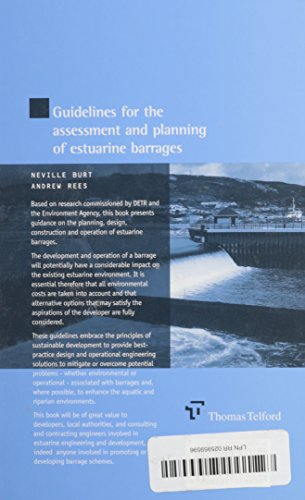 Guidelines for the Assessment and Planning of Estuarine Barrages (HR Wallingford titles)
