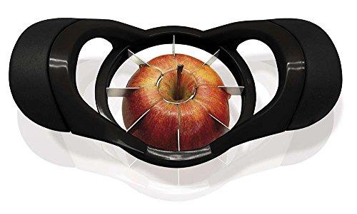 NERTHUS FIH 021 - Pelador de manzanas de Acero Inoxidable,  Pela, Deshuesa y Corta rodajas la manzana en cuestión de segundos
