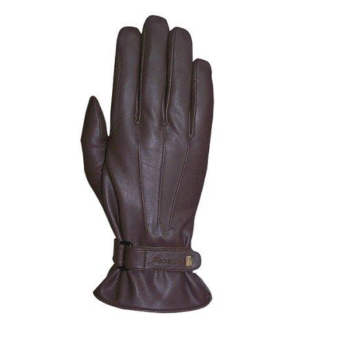 Roeckl Sports Winter Handschuh -Wago- Unisex Reithandschuh, Mokka antik, 7,5