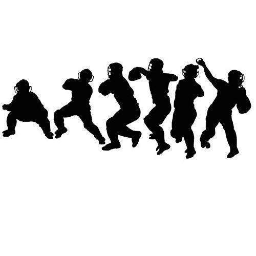 lyclff Wandaufkleber Baseball Catchers Vinyl Kunst Spielzimmer Team Decor Fang Sport Jungen Kinder Werfen Dekoration Poster ~ 1 57X142 cm (Baseball-gewicht Kugeln)