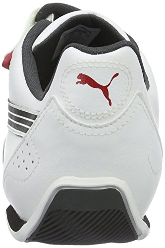 Puma Redon Move, Baskets Basses Mixte Adulte Blanc (White/Black/Red 01)