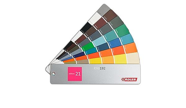 Ral 192 Farbfächer Adler Edition 21 Fächer In Anlehnung An Ral Farbregister Baumarkt