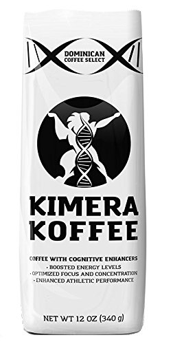 Kimera Koffee – Nootropic Infused Ground Coffee – High Altitude Single Estate (12oz) 41dq9lIi73L